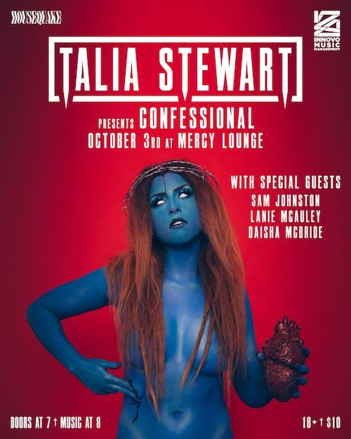 Talia Stewart presents Confessional