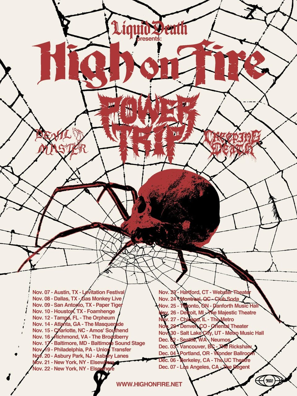 High On Fire, Power Trip