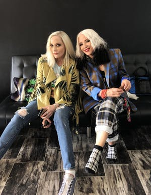Cherie Currie (The Runaways) & Brie Darling (Fanny)