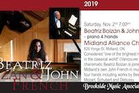Beatriz Boizan & John French - Piano Four Hands