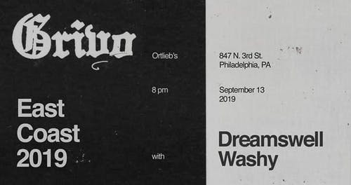 Grivo / Dreamswell / Washy