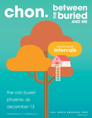 CHON & BETWEEN THE BURIED AND ME