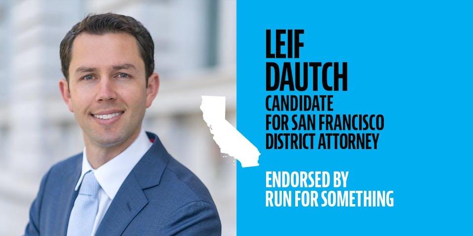 Policy Pitch Night with DA Candidate Leif Dautch