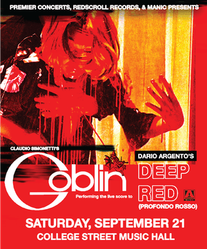 CANCELLED:Claudio Simonetti's Goblin: Performing the live score to Deep Red