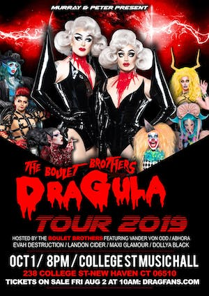 CANCELLED: Boulet Brothers: Dragula Tour