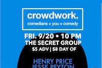 CROWDWORK: You + Comedy