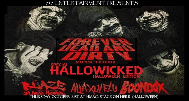 Forever Your Dead Tour Hallowicked Edition