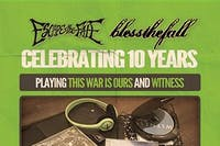 Escape The Fate performing THIS WAR IS OURS w/ BLESS THE FALL
