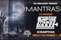 The Mantras + Empire Strikes Brass with Scrumptious