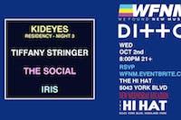 KID EYES (Night Three), Tiffany Stranger, The Social, Iris
