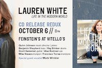 "Lauren White "" Life In The Modern World"" CD Release"