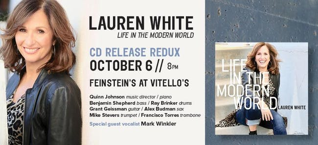 """Lauren White """"Life In The Modern World"""" CD Release"""