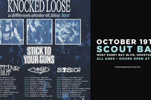 Knocked Loose at Scout Bar