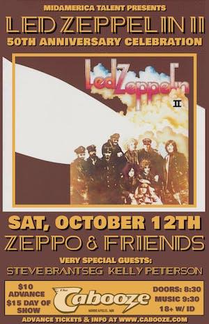 Led Zeppelin II 50th Anniversary Celebration w/ ZEPPO & Friends