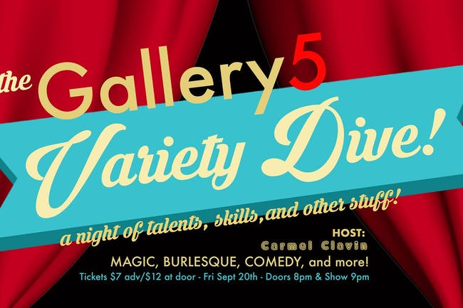 The Gallery 5 Variety Dive!