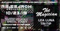 The Magician w/ Lea Luna, Tri-Tip (Late Set), Jordan Polovina