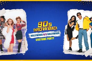 90s Throwback in Seattle! Bollywood vs Hollywood Costume Party