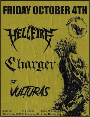 CHARGER + Hellfire + Vulturas + Warren Betty