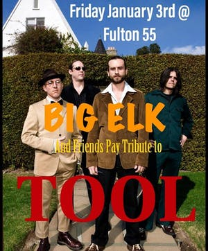 Big Elk and Friends Pay Tribute to Tool