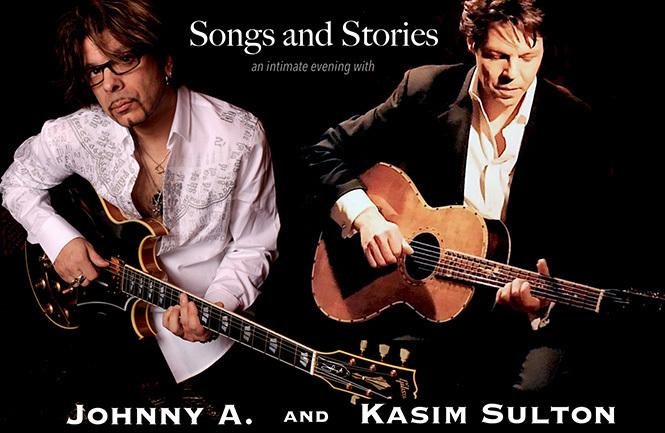 Johnny A. & Kasim Sulton: Songs & Stories **All Ages Matinee**