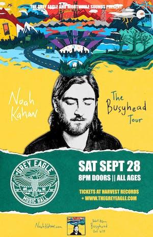 """Noah Kahan: """"Busyhead Tour 2019"""""""