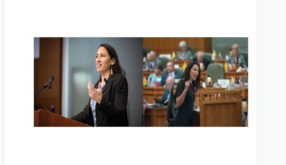 A Conversation w/ Congresswomen Sharice Davids & Xochitl Torres Small