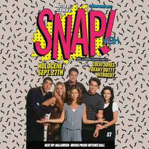 SNAP! Y2K: '90s vs '00s Dance Party - Friends edition
