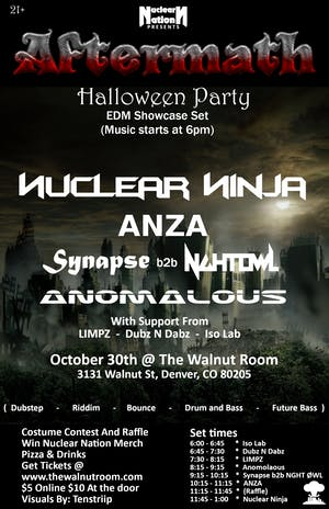 Nuclear Ninja, ANZA, Synapse the Wizard, Anomalous