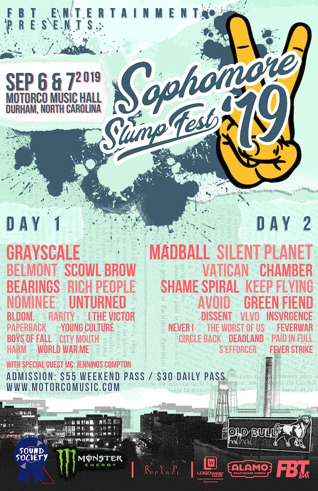The 4th Annual Sophomore Slump Fest