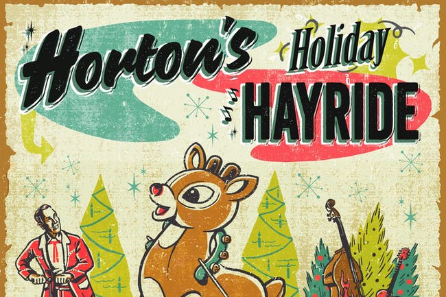 Reverend Horton Heat's Holiday Hayride w/ Voodoo Glow Skulls, The 5.6.7.8's