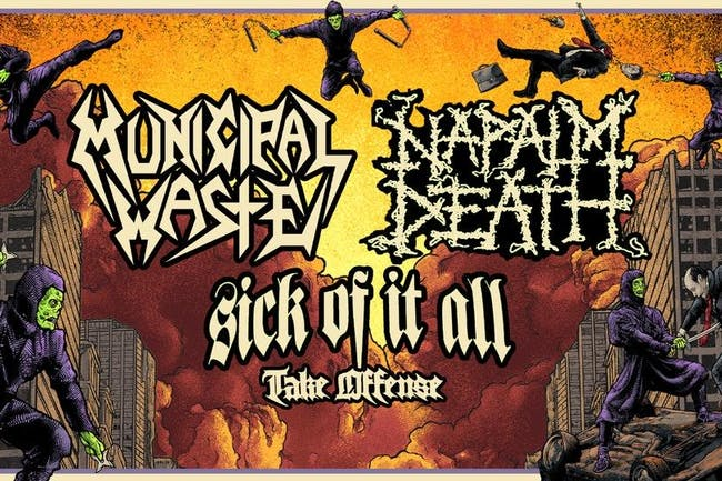 Municipal Waste +Napalm Death