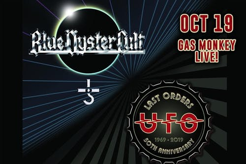Blue Oyster Cult + UFO