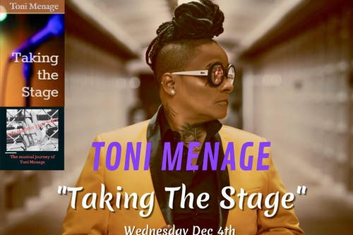 "Toni Menage ""Taking the Stage"" Book & Documentary Release Party"