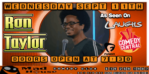 Ron Taylor as seen on Comedy Central, Laughs on Fox and more!