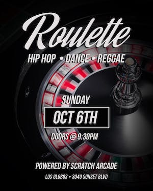 Roulette: Hip Hop | Dance | Reggae | House