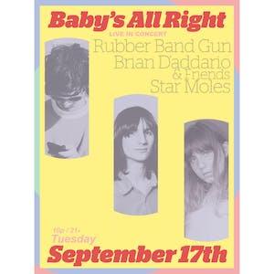 Rubber Band Gun with Brian D'Addario & Friends, Star Moles