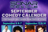 Canadian headliner Scott Belford!!! Friday September 20, 2019 - doors 9pm, Show at 9:30pm!