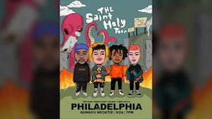 Saint Holy Tour: WHATUPRG ~ Parris Chariz ~ Aklesso ~ Tommy Royale