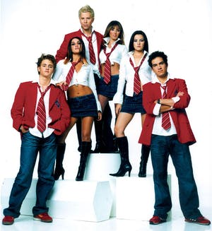 Club 90's presents The REBELDE Party