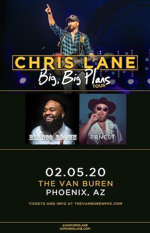 Chris Lane - Big, Big Plans Tour