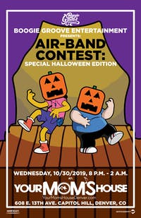 Air-Band Contest: Special Halloween Edition
