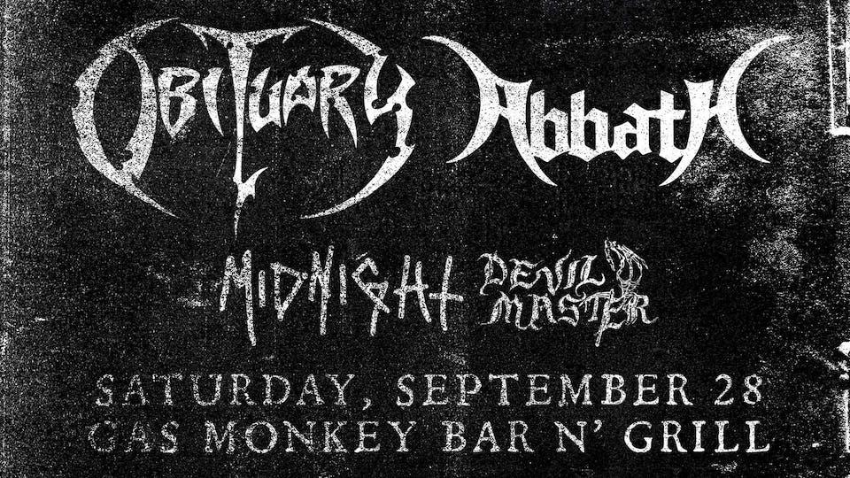 Obituary + Abbath