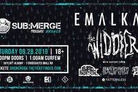 SUB:MERGE Presents - DRENCH::. IV w/ Emalkay, The Widdler