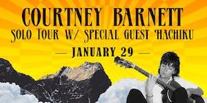 Courtney Barnett Solo Tour
