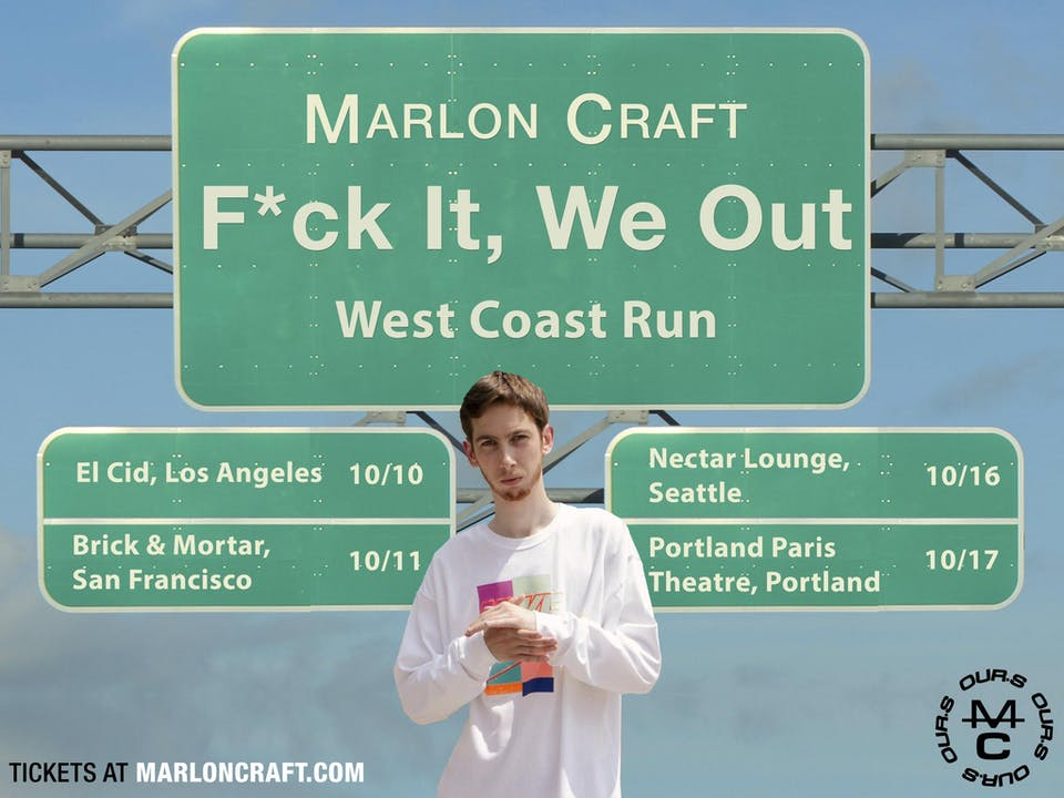 *CANCELLED* MARLON CRAFT