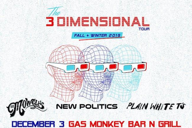 The Mowgli's, New Politics & Plain White T's - The 3 Dimensional Tour