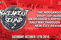 ROCK 95 BREAKOUT SOUND 2 Thanksgiving Concert Party