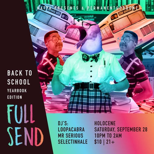 Full Send: Back to School Yearbook Edition