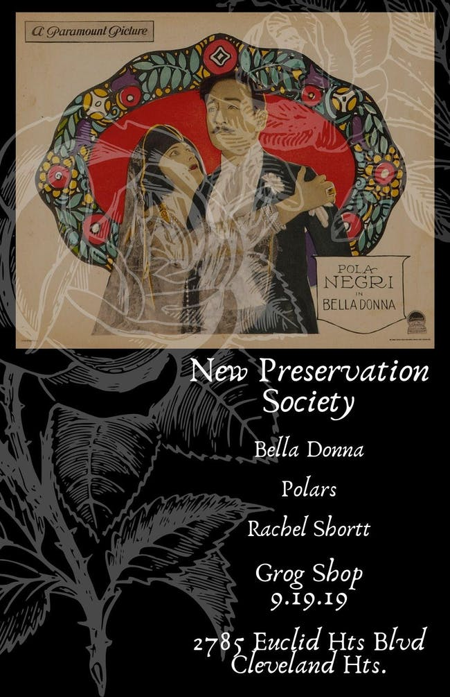 New Preservation Society/ Bella Donna / Polars / Rachel Shortt