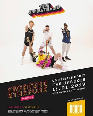The Sweatband Album Release with Heatbox and Viva Knieval